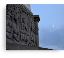 Peace Pagoda, Willen (3) Canvas Print