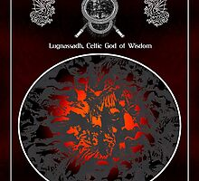 Celtic Wisdom God Lughnassadh by Vy Solomatenko