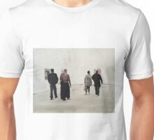 Visitors at the Saatchi Gallery Unisex T-Shirt