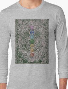 The Seven Chakras (Ancient) Long Sleeve T-Shirt