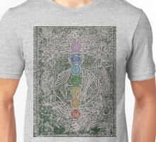 The Seven Chakras (Ancient) Unisex T-Shirt