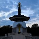 Peace Pagoda, Willen (2) by crashbangwallop