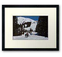 Heading out for the Day Framed Print