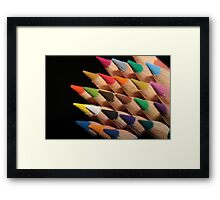 Colour me in. Framed Print
