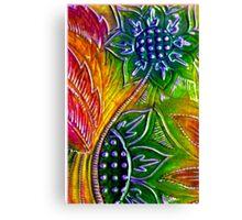 Colourwheel - Card Canvas Print
