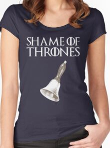 Shame of Thrones Women's Fitted Scoop T-Shirt