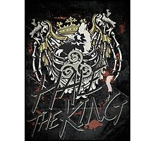 Hale the King Photographic Print