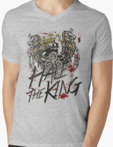 Hale the King Mens V-Neck T-Shirt