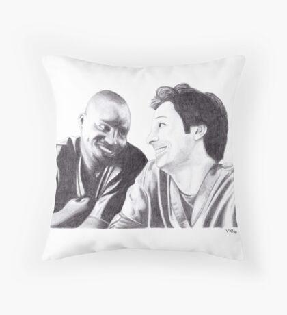 Scrubs - Turk & JD Throw Pillow