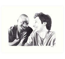 Scrubs - Turk & JD Art Print