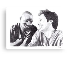 Scrubs - Turk & JD Canvas Print