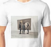 Visitors at the Saatchi Gallery 2 Unisex T-Shirt