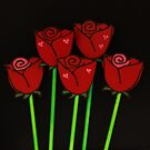 Chocolate Roses by tali