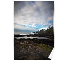 Botany Bay, San Juan Provincial Park, BC Canada Poster