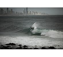 Pro Surfing at Burleigh Photographic Print