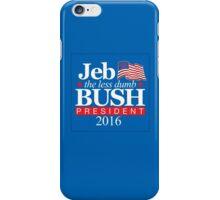 Jeb - The Less Dumb Bush iPhone Case/Skin