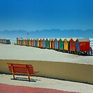Huts on the beach by Selsong