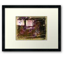 The Trees Framed Print