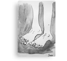 feet#1  Canvas Print