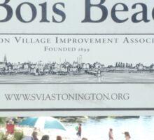 duBois Beach, Stonington Borough, Connecticut Sticker