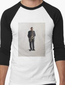 Sax Man Men's Baseball ¾ T-Shirt