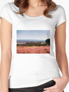 Abandoned Farm House Women's Fitted Scoop T-Shirt