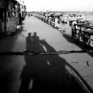 scooter shadows by GingerSnaps