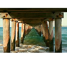 Point Lonsdale Pier Photographic Print