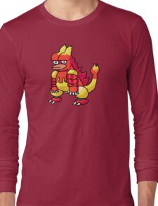DISGRUNTLEDMON - MAGMAR Long Sleeve T-Shirt