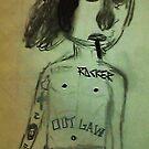 punk rocker by jose castillo