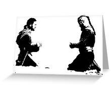 Ragnar Lothbrok and Athelstan Greeting Card