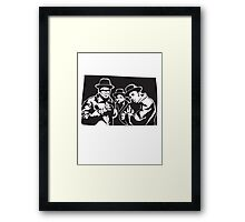 Run DMC Framed Print