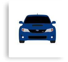 Subaru WRX Hatch Canvas Print