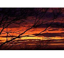 bonnie winter sunset no.1 Photographic Print