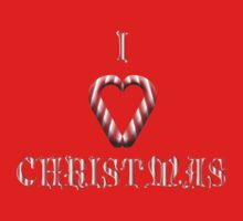 I Love Christmas Kids Tee