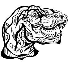 Optimus Rex Tribal Art Design by juicycreations