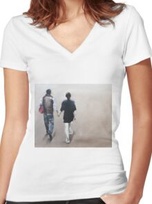 Lovers Women's Fitted V-Neck T-Shirt