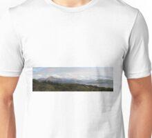 Cuillin Mountain range - Panorama Unisex T-Shirt