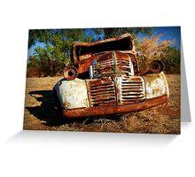 Rusty Greeting Card