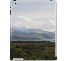 Cuillin Mountain range - Panorama iPad Case/Skin