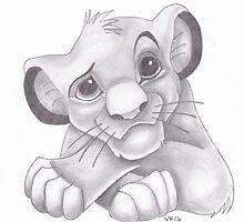 Disney - Simba by vknight1989