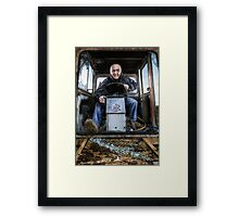 Field Rage Framed Print