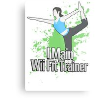 I Main Wii Fit Trainer - Super Smash Bros. Metal Print