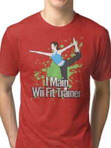 I Main Wii Fit Trainer - Super Smash Bros. Tri-blend T-Shirt