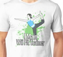 I Main Wii Fit Trainer - Super Smash Bros. Unisex T-Shirt