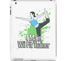 I Main Wii Fit Trainer - Super Smash Bros. iPad Case/Skin