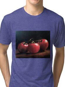 Three Tomatoes Tri-blend T-Shirt
