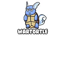 Wartortle is Judging You Photographic Print