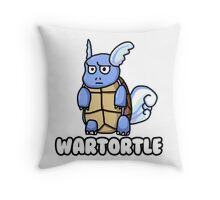 Wartortle is Judging You Throw Pillow