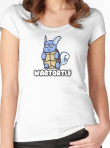 Wartortle is Judging You Women's Fitted Scoop T-Shirt